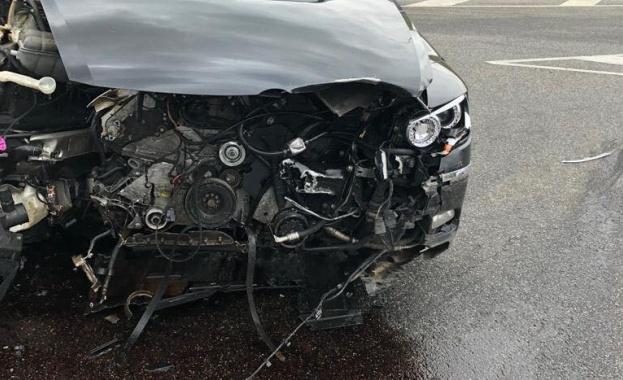 Снимка: Близки на загиналото бебе в катастрофата с Лютви Местан: Не помогна, стоя в колата си половин час