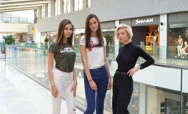 Три красиви момичета направиха първата крачка от пътя към световна