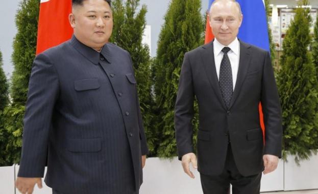 Приключи срещата на четири очи между руския президент Владимир Путин