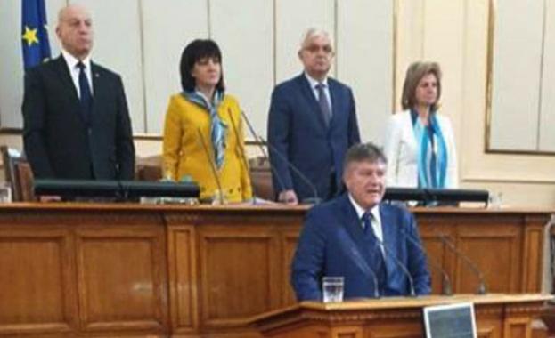 Митко Полихронов положи клетва като депутат от парламентарната група на