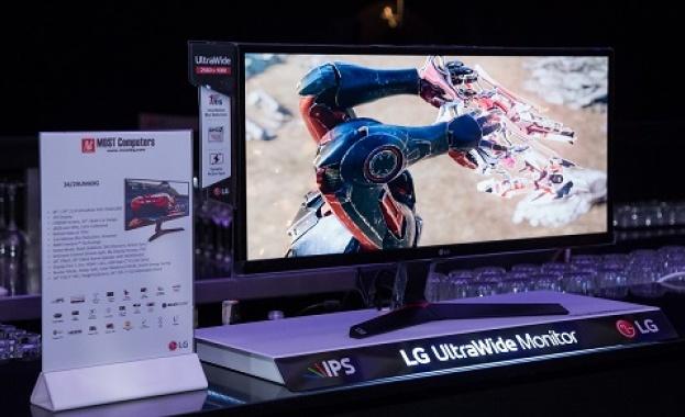 LG Electronics представи своите нови гейминг монитори на специално събитие,
