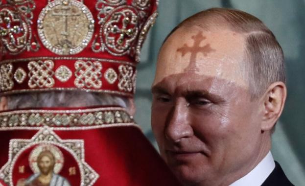 Руският президент Владимир Путин поздрави за Великден православните християни и
