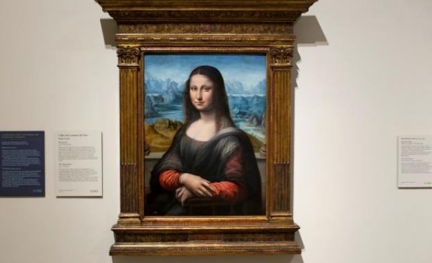 Джокондата на Леонардо да Винчи, намираща се в парижкия музей
