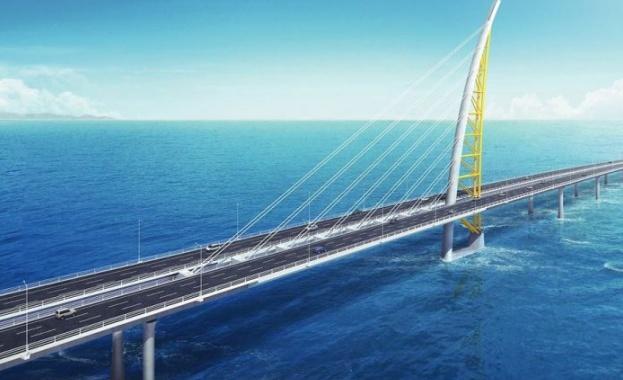 Кувейт откри най-дългия мост в света, който свързва богатата на