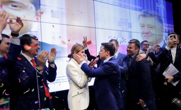 Съпругата на избрания президент на Украйна Владимир Зеленски Елена купила