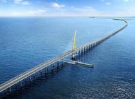 Най-дългият мост в света беше открит в Кувейт