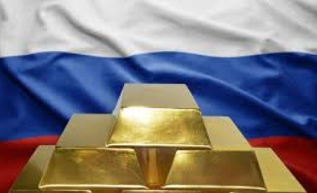 Русия е държавата, която е купила най-много злато през първото