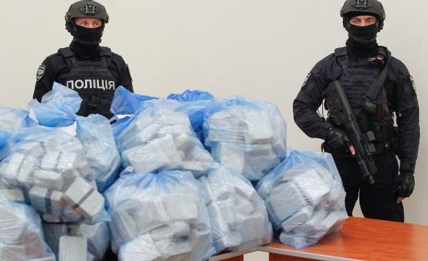 Украинските граничари са заловили в Одеса рекордна пратка наркотици -