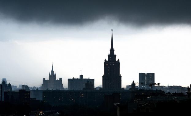 Силната буря, която се разрази над Москва в четвъртък, е