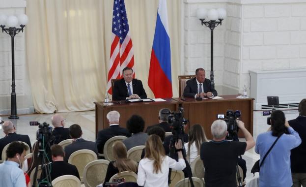 При първата си визита в Русия като държавен секретар на