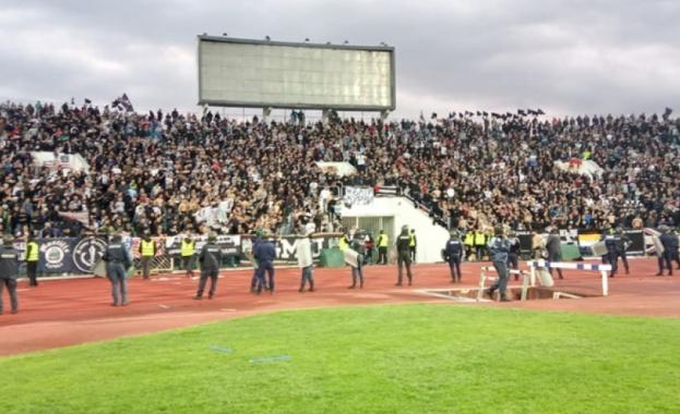 Купата на България е черно-бяла!