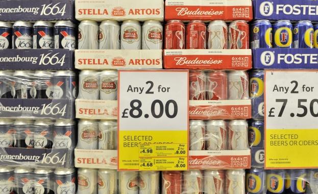 Във Великобритания се напиват по-често, отколкото във всяка друга страна
