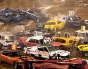 Луда автомобилна надпревара в София