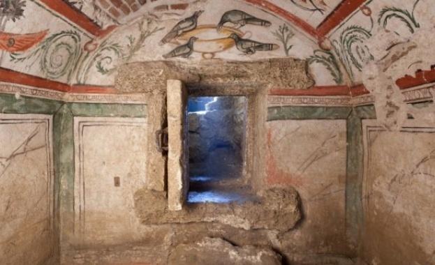 Римската гробница със стенописи край Силистра е един от 50-те