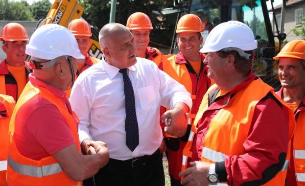 Министър-председателят Бойко Борисов участва в церемонията по откриването на 13
