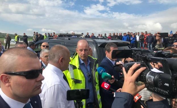 Министър-председателят Бойко Борисов инспектира началото на строителните дейности по модернизацията