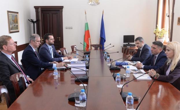 Министърът на правосъдието Данаил Кирилов се срещна с Хартмут Ранк,