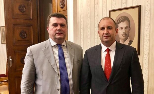 Председателят на Съюза на журналистите на Русия Владимир Соловьов е на посещение в България