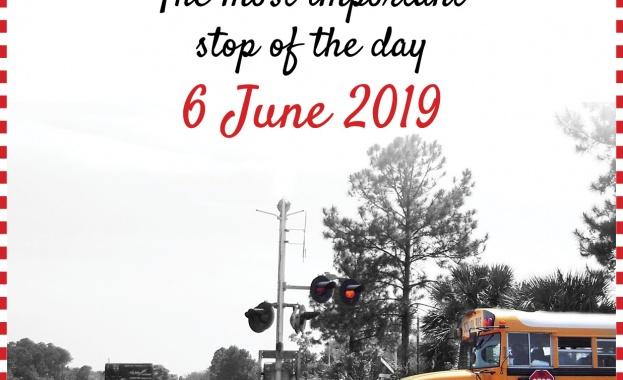 Снимка: НКЖИ отбелязва Международния ден за безопасно преминаване през железопътните прелези