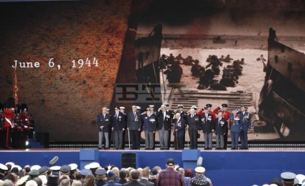 В южното британско пристанище Портсмут днес се проведоха възпоменателни церемонии