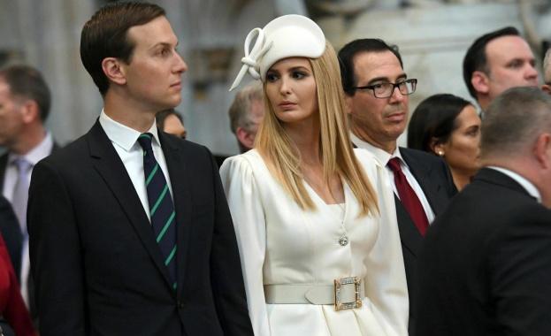 Иванка Тръмп направи всичко възможно, за да впечатли кралското семейство