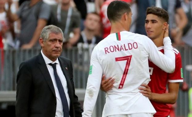 Селекционерът на Португалия разкри колко още ще играе Роналдо