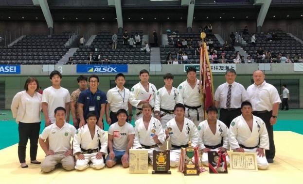 Българският джудист Даниел Дичев най добър в Япония