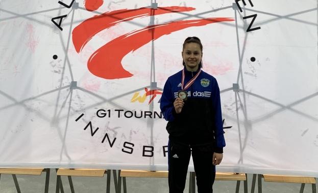 Спортният талант Румина Кирчева с бронз от G1 по таекуондо по таекуондо