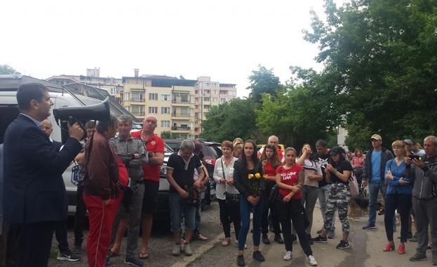 """БСП – София подкрепя протестиращите граждани от """"Дружба"""""""
