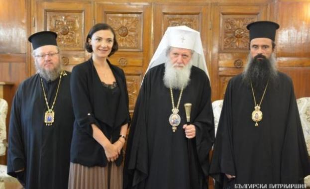 В Синодалната палата се състоя среща между патриарх Неофит и