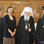 Патриарх Неофит се срещна с посланика на Грузия у нас