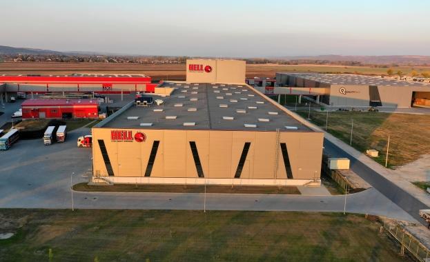 HELL ENERGY откри своя високотехнологичен склад – част от инвестиция за 90 милиона евро