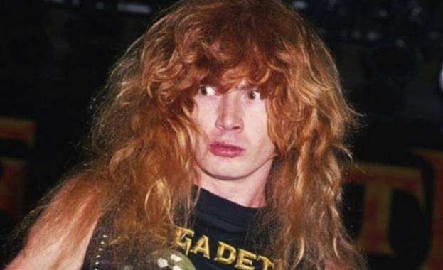 Откриха рак на фронтмена на американската метъл група Мегадет Дейв