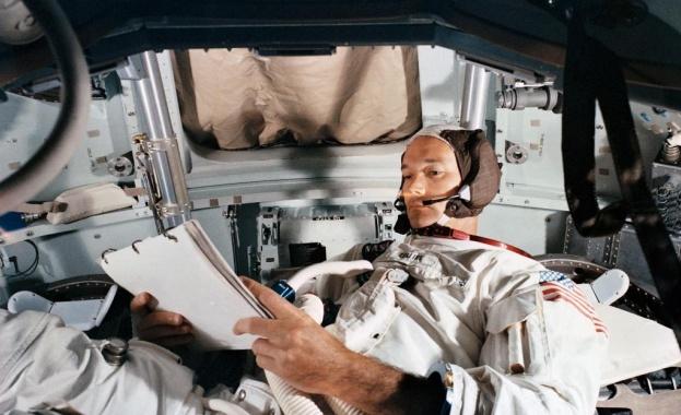 Астронавтът Майкъл Колинс публикува неизвестна досега снимка на екипа на