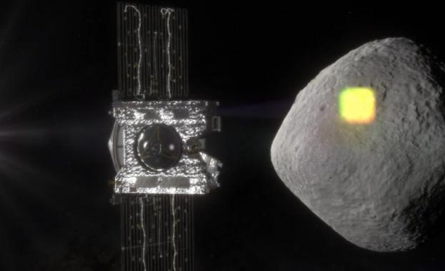 Сондата ОСИРИС-РЕКС на НАСА направи детайлната снимка на астероида Бену,