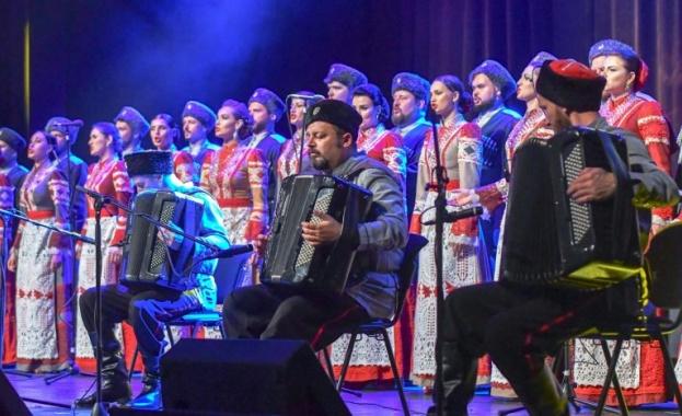 Легендарният Кубански казашки хор напълни Зала 1