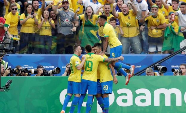 Бразилия разгроми Перу с 5:0 в последен мач от група