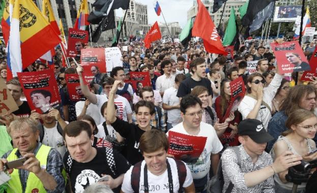 Протести в подкрепа на журналиста Иван Голунов под общ наслов