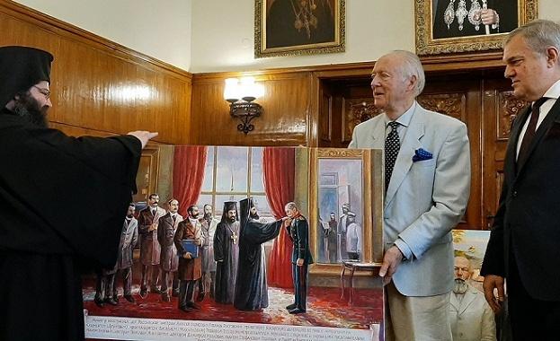 Княз Никита Дмитриевич Лобанов-Ростовски направи дарение на Светия синод -