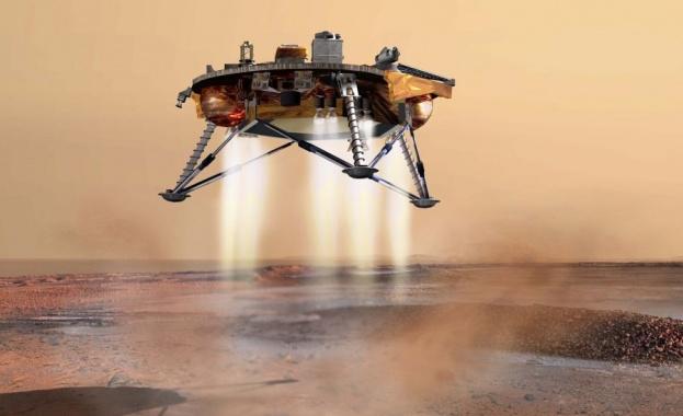 Китайски специалисти завършиха строителството на марсохода, който ще осъществи първата