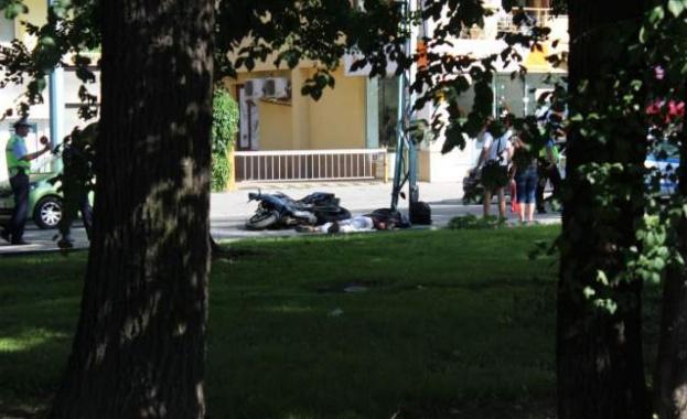 Моторист е катастрофирал следобед на пловдивския бул.
