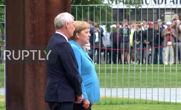 Ангела Меркел получи пристъп за трети път този месец. Канцлерът