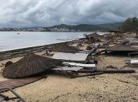 Извънредно положение в Гърция, буря с жертви на Халкидики