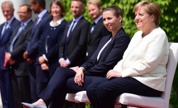 Промениха протокола заради пристъпите на треперене на Ангела Меркел