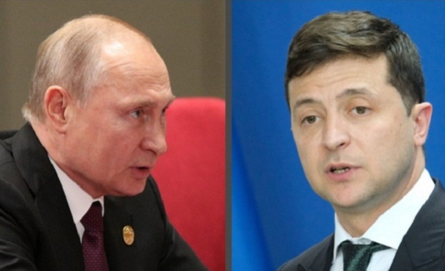 Руският президент Владимир Путин проведе първи телефонен разговор с президента