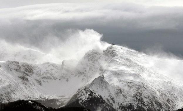 Студена въздушна маса, проникнала от северозапад, донесе сняг в Румъния