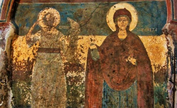 Св. Юлита произлизала от рода на предишните римски царе. Овдовяла