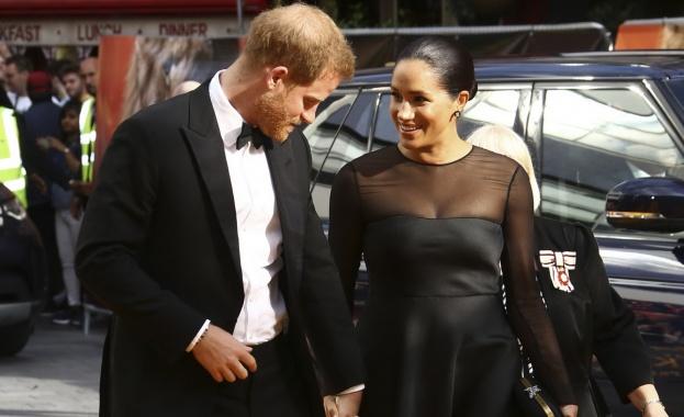 Принц Хари и съпругата му Мегън Маркъл освежиха атмосферата, след
