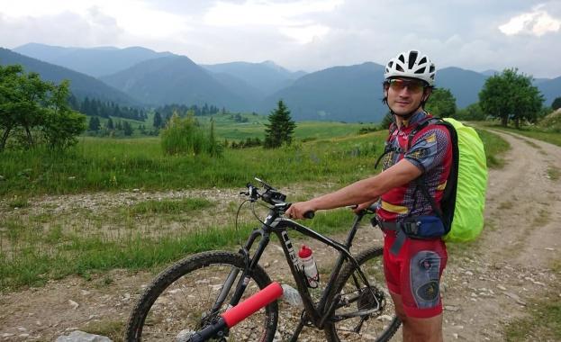 Планинският колоездач Борислав Йорданов, който преди по-малко от две години