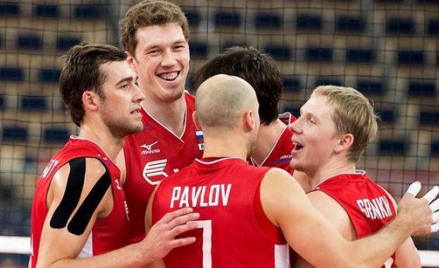 Волейболистите от националния отбор на Русия успяха да защитят титлата
